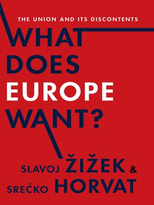 cover image of What Does Europe Want?
