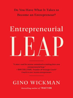 cover image of Entrepreneurial Leap