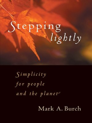 cover image of Stepping Lightly