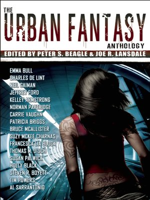 cover image of The Urban Fantasy Anthology