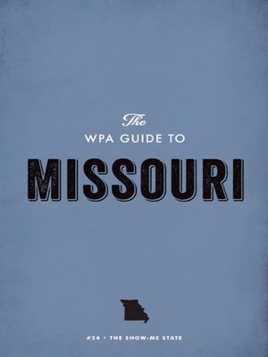 cover image of The WPA Guide to Missouri