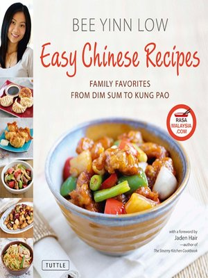 cover image of Easy Chinese Recipes