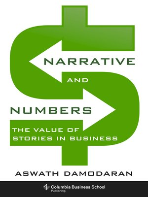 cover image of Narrative and Numbers