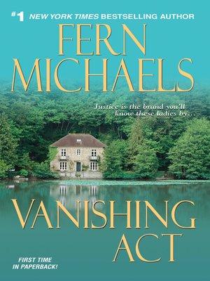 cover image of Vanishing Act