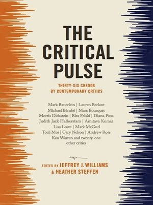 cover image of The Critical Pulse