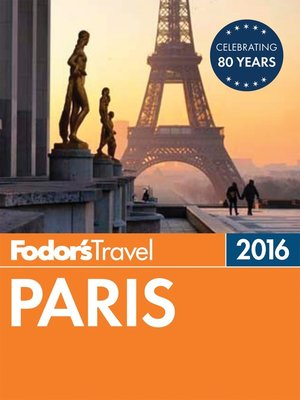 cover image of Fodor's Paris 2016