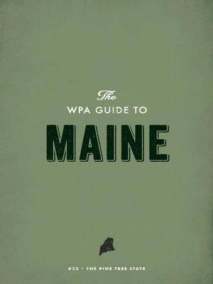 cover image of The WPA Guide to Maine