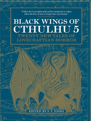 cover image of Black Wings of Cthulhu, Volume 5