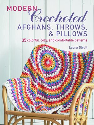 cover image of Modern Crocheted Afghans, Throws, and Pillows (US)