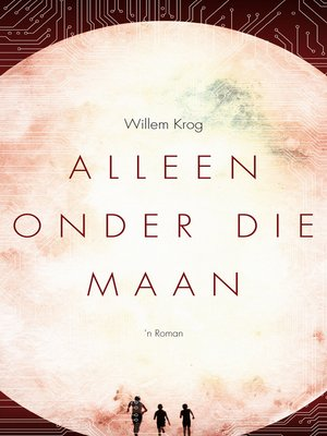 cover image of Alleen Onder Die Maan