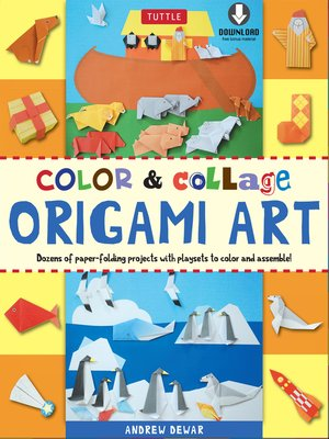 cover image of Color & Collage Origami Art Kit Ebook