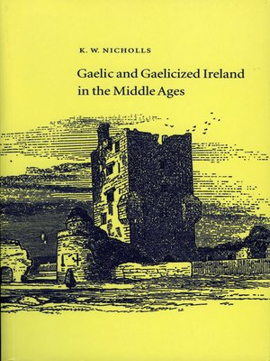 cover image of Gaelic and Gaelicised Ireland