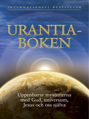 cover image of Urantiaboken