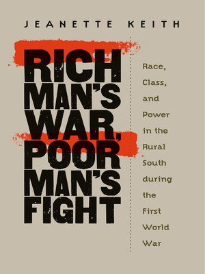 cover image of Rich Man's War, Poor Man's Fight