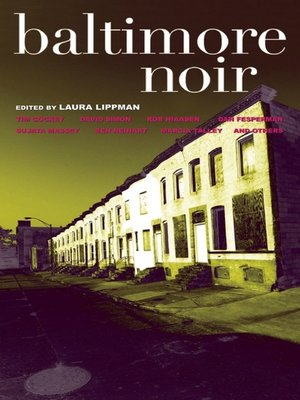 cover image of Baltimore Noir