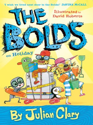 cover image of The Bolds on Holiday