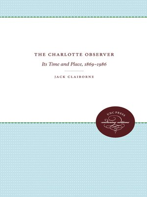 cover image of The Charlotte Observer
