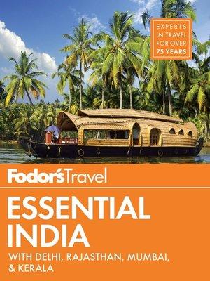 cover image of Fodor's Essential India