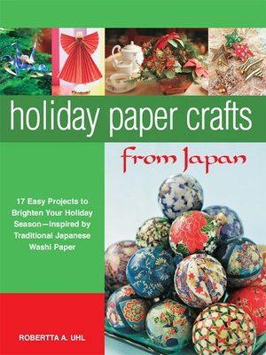 cover image of Holiday Paper Crafts from Japan