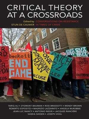 cover image of Critical Theory at a Crossroads