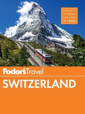 cover image of Fodor's Switzerland