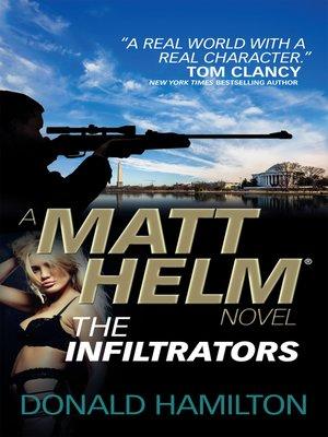 cover image of Matt Helm--The Infiltrators