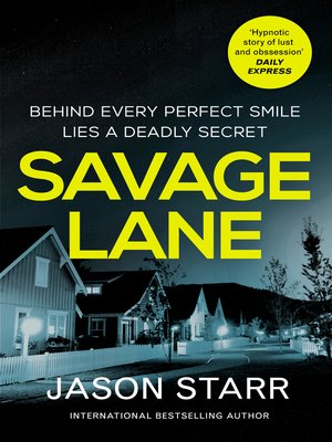 cover image of Savage Lane