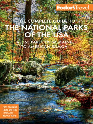 cover image of Fodor's the Complete Guide to the National Parks of the USA
