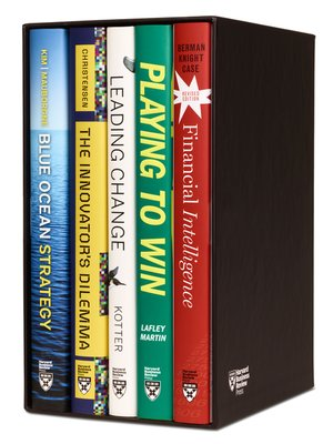 cover image of Harvard Business Review Leadership & Strategy Boxed Set (5 Books)