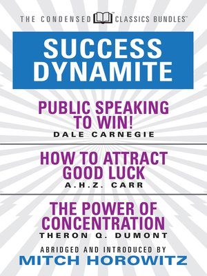 cover image of Success Dynamite (Condensed Classics)