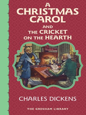 cover image of A Christmas Carol and the Cricket on the Hearth