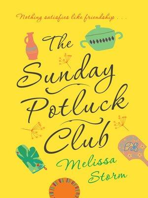 The Sunday Potluck Club Book Cover