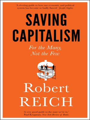 cover image of Saving Capitalism