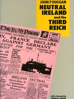 cover image of Neutral Ireland and the Third Reich