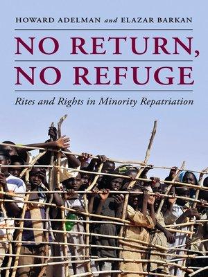 cover image of No Return, No Refuge