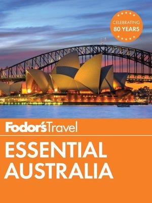 cover image of Fodor's Essential Australia