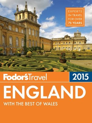 cover image of Fodor's England 2015