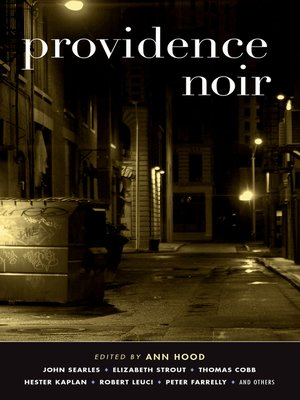 cover image of Providence Noir