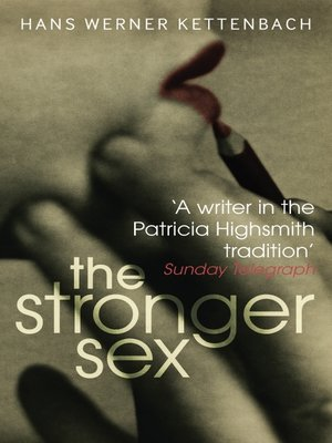 cover image of The Stronger Sex
