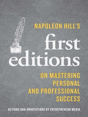 cover image of Napoleon Hill'ss