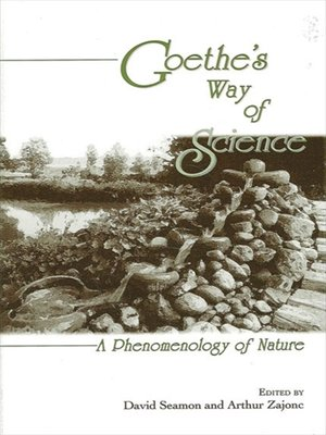 cover image of Goethe's Way of Science
