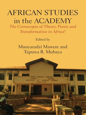 cover image of African Studies in the Academy