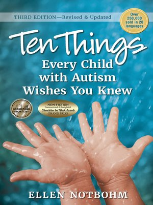 cover image of Ten Things Every Child with Autism Wishes You Knew
