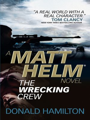 cover image of Matt Helm--The Wrecking Crew
