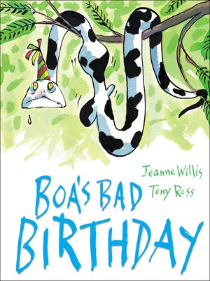 cover image of Boa's Bad Birthday