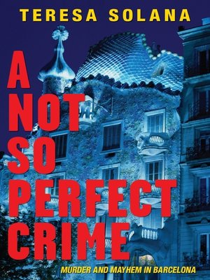 cover image of A Not So Perfect Crime