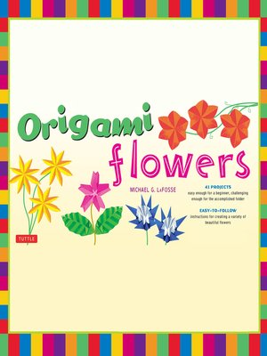 cover image of Origami Flowers Ebook