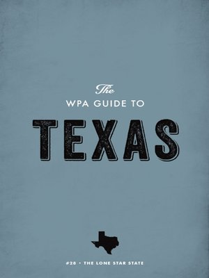 cover image of The WPA Guide to Texas