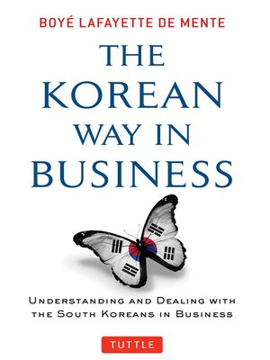 cover image of Korean Way In Business