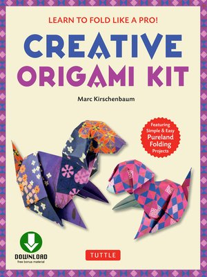 cover image of Creative Origami eBook